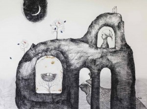 """a certain dream"", 57x75cm Mountain Dreams Gallery"