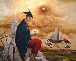 """a piece of"", 130x163 cm Mountain Dreams Gallery"