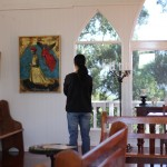 maki in chapel